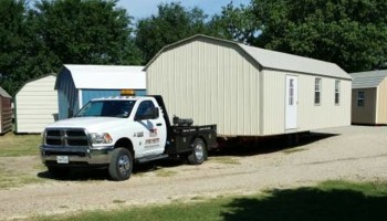 Portable storage building and shed movers