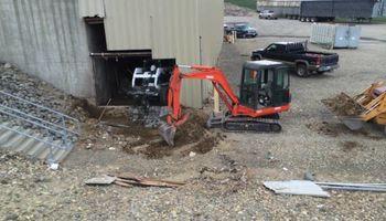 Operated Mini-excavator/Excavator for rent...