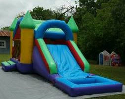 Moonbounce jumper combo water slide or ball pit