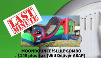 Moonbounce Rental. Last Minute Available!