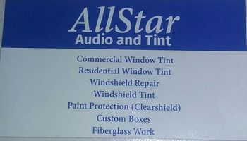 All Srar audio and tint. ASWF & Ceramic Film