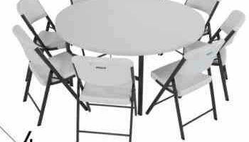 Tables and Chairs rentals / BEST DEALS - $20 delivery fee