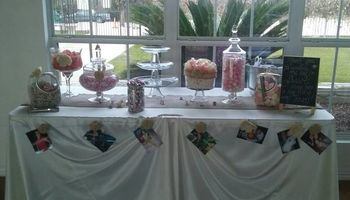 Sweets buffet - Mini cupcakes/Candy apples/... $300-700