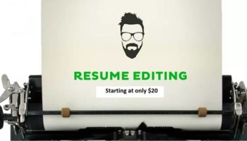 Make Your Resume Shine w Resume Editing Services