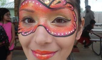 =) Face painting by Elisabeth $85/hr