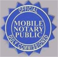 Bilingual Mobile Notary Service where you need it!