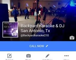 Backyard Party DJ and Karaoke