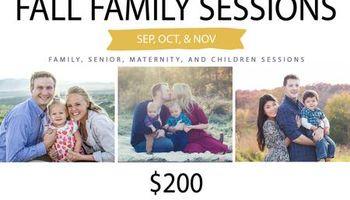 $200 Fall Family Photography