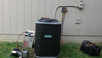 Air Conditioner (AC/ brand new, installed)
