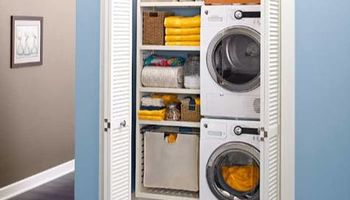 Closet design by Acosta. Carpenter - closet, garage, cabinet and laundry room