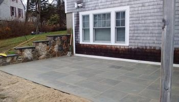 Patios, walkways, Stone walls, Cobblestone. Shep Hardscape Services