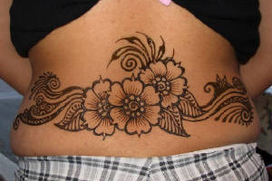 White Henna tattoos for all special occasions