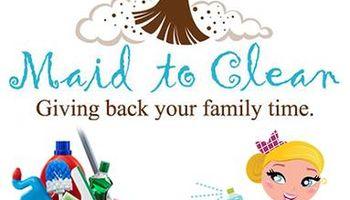 Monthly, weekly, bi-weekly Maid To Clean