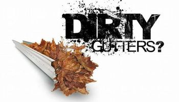 Gutter cleaning & repairs. Call William Thomas!