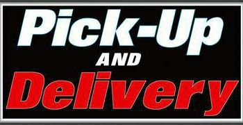 Simple pick up and delivery service available