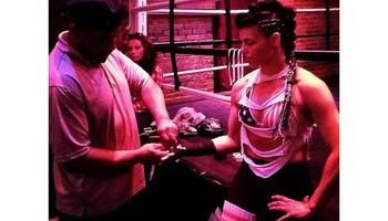 Mendez Boxing gym. INTENSE BOXING WORKOUT