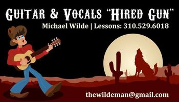 PRIVATE GUITAR & VOICE LESSONS (GUITAR INSTRUCTOR FOR WEST LA COLLEGE)