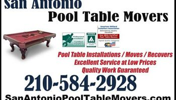 POOL TABLE MOVERS / INSTALLERS