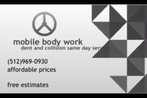 SAVE 80%ON MOBILE BODY WORK SAVE MONEY AND TIME