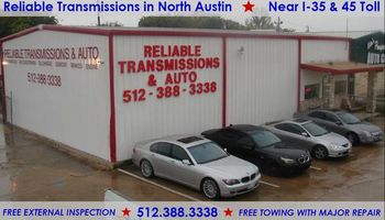 Affordable transmission repairs done right!