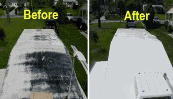 Mobile home roof coatings. BEST PRICES in town!