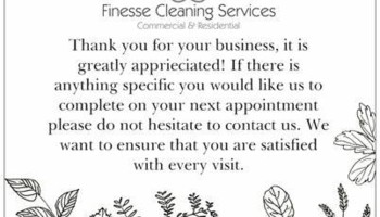 Finesse Cleaning Service