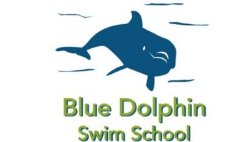 Blue dolphin. Personalized Swim Lessons at Your Home