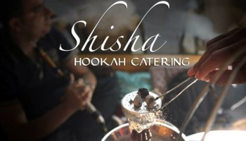 SHISHA HOOKAH EVENT CATERING!