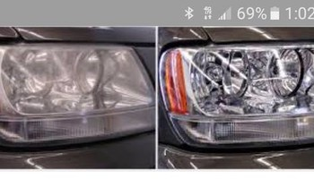 Mobile head light restoration service. I come to u, same day service!