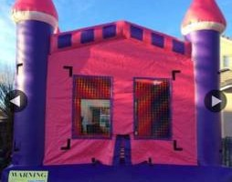 Bellas bounce house/14x14 Jump house $90 + Tables/Chairs