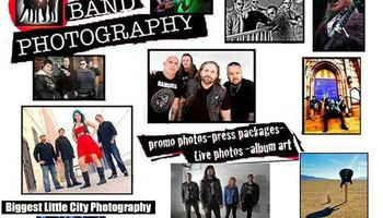 Band Music Photography. Promo Package- $150.00
