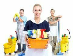 Twin cleaning service by Miguel Martel