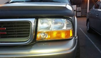 Dull and yellowing plastic Headlight repair plus