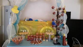 Mini Postresitos! Shots of desserts, table snacks,,,