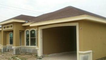 CONSTRUCTION. Brick/block/stucco/driveway