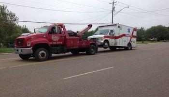 Rv, Motorhomes, trucks... We tow them all!