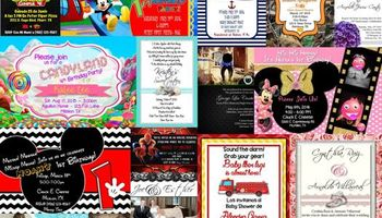 Invitations for your event! 50 for $35