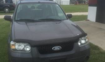 Transportation with a smile (Ford Escape)
