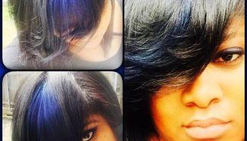 Whip Lash Salon. Hair color (1360 Powers Ferry)