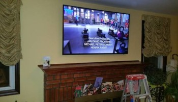 Same Day Skilled TV Installation on Wall