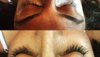 Professional eyelash extension $70 Full set