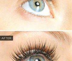 Eyelash transformation-eyelash extensions