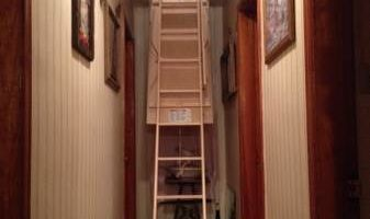 ATTIC PULLDOWN LADDERS & FLOORING