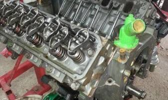 Engines rebuilt or replaced