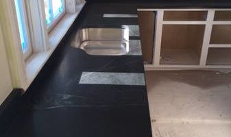 Marble and granite countertops