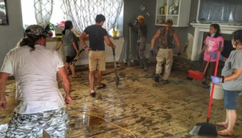 FLOOD DAMAGE CLEAN-UP AND RESTORATION