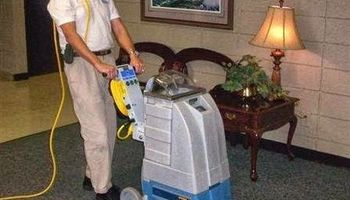 Dry Master's carpet extraction system