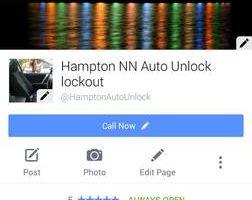 Hampton NN Auto Lock outs