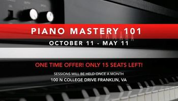 Piano Mastery 101 -Piano Class