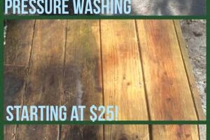 Pressure Washing For ANY budget!